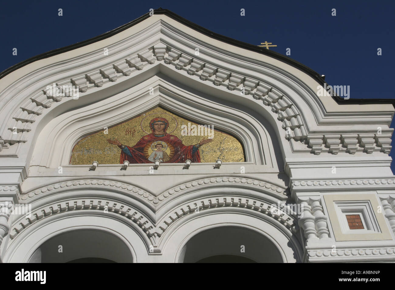 ESTONIA - the Alexander Nevski Cathedral in the capital Tallin - Stock Image
