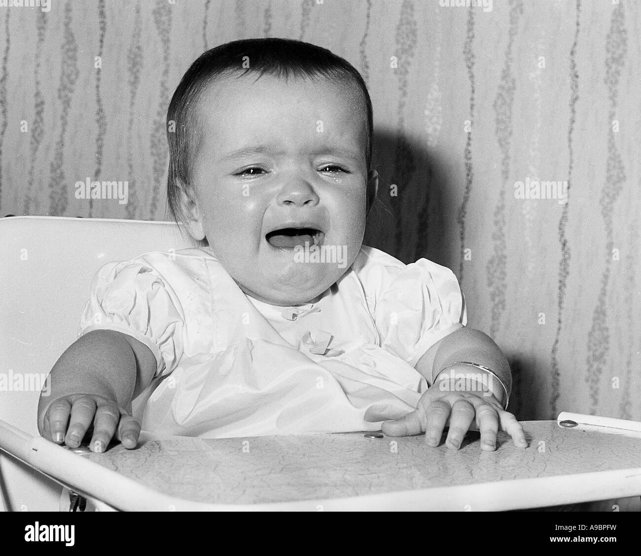 Crying Girl Black And White Stock Photos  Images - Alamy-4615