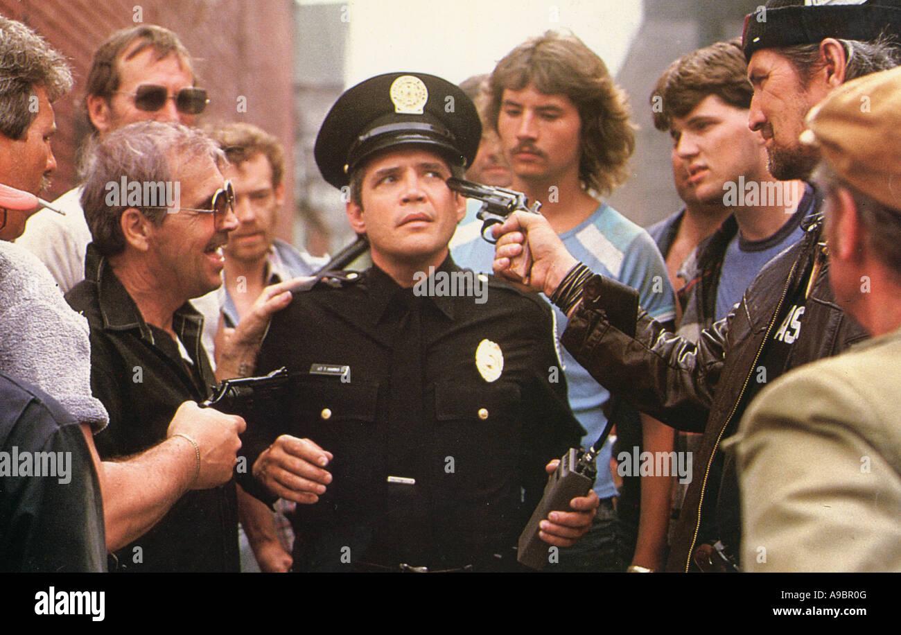 POLICE ACADEMY 4 : CITIZENS ON PATROL - 1987 Warner film - Stock Image