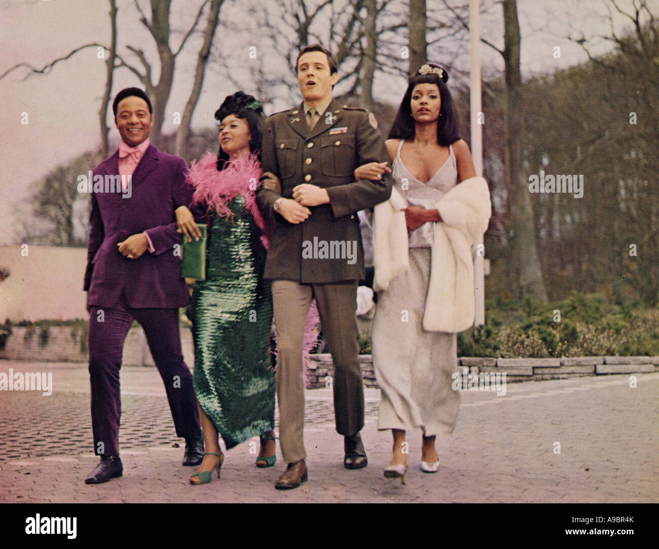 WELCOME TO THE CLUB - 1970 satirical comedy film shot in Copenhagen - Stock Image