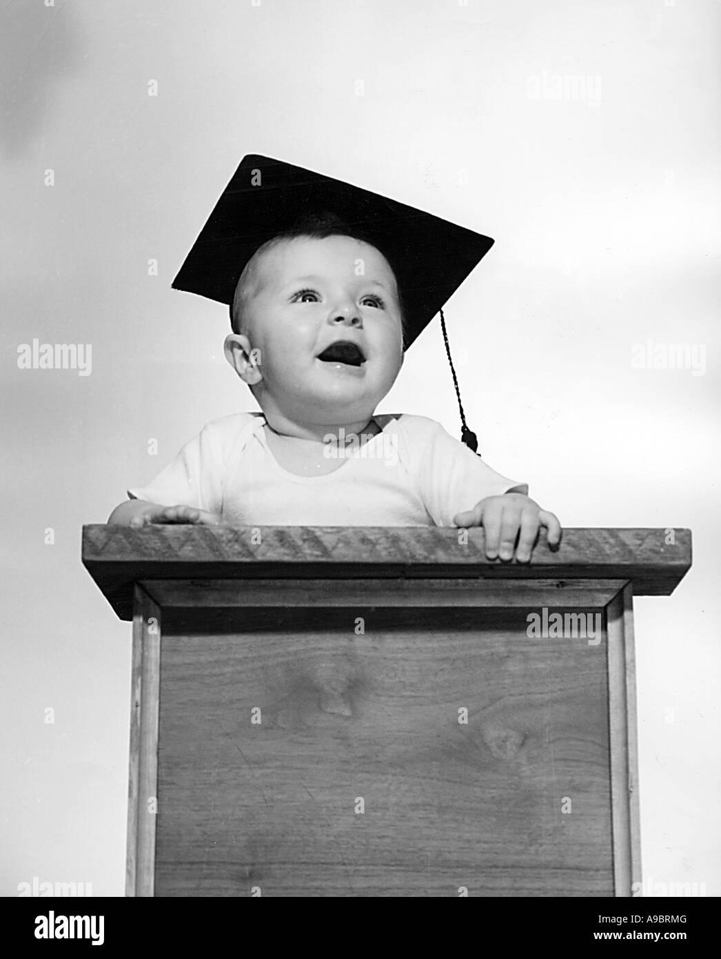SCHOLAR BABY - Stock Image