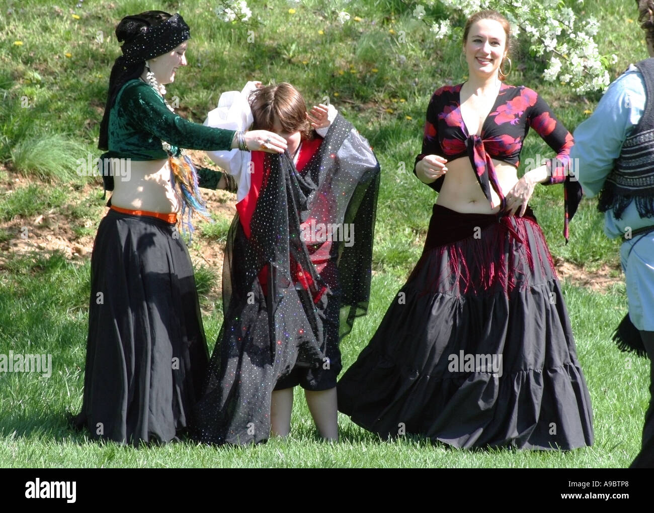 Women in traditional Gypsy costume  sc 1 st  Alamy & Women in traditional Gypsy costume Stock Photo: 7038311 - Alamy