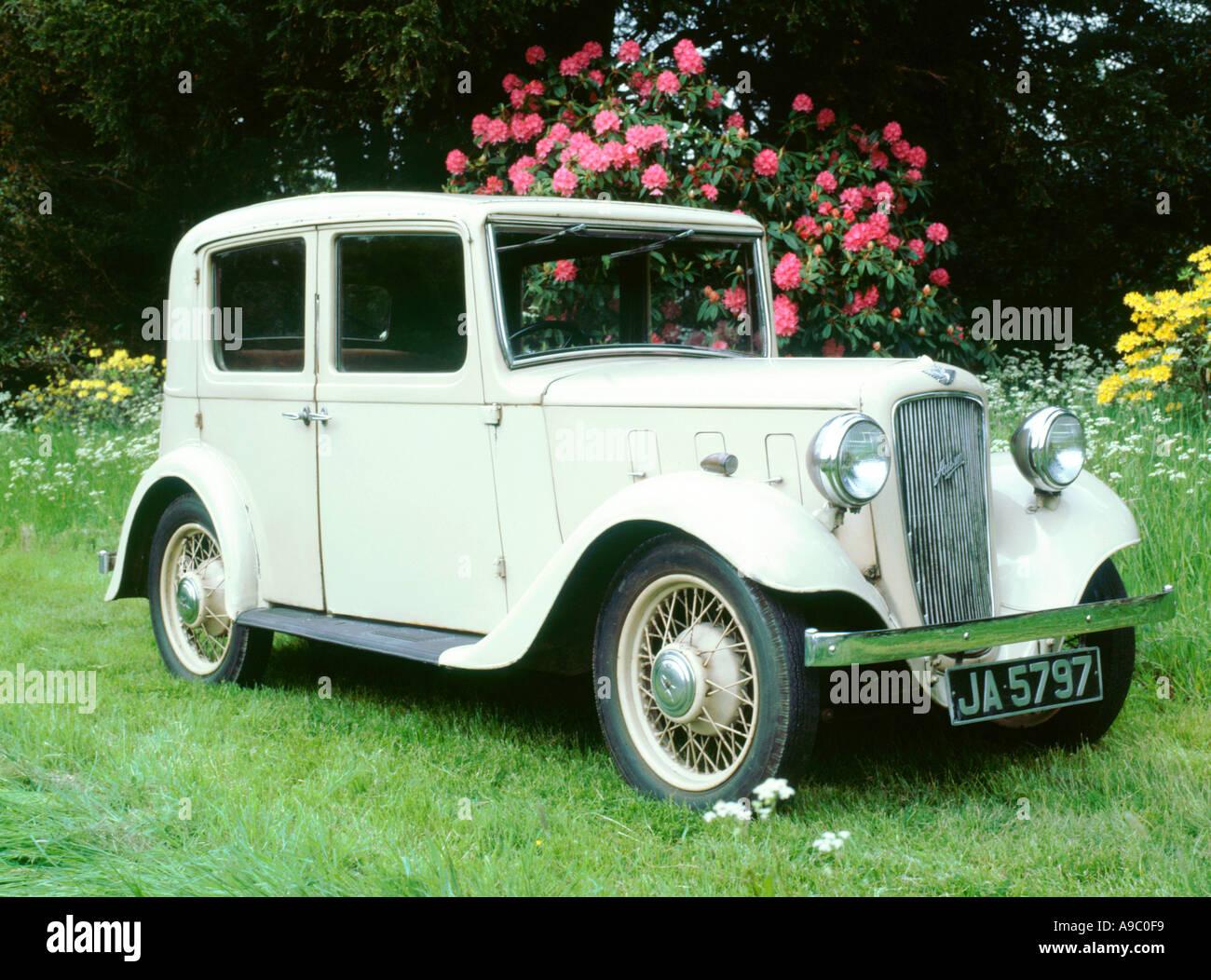 1935 Austin 10 Litchfield - Stock Image