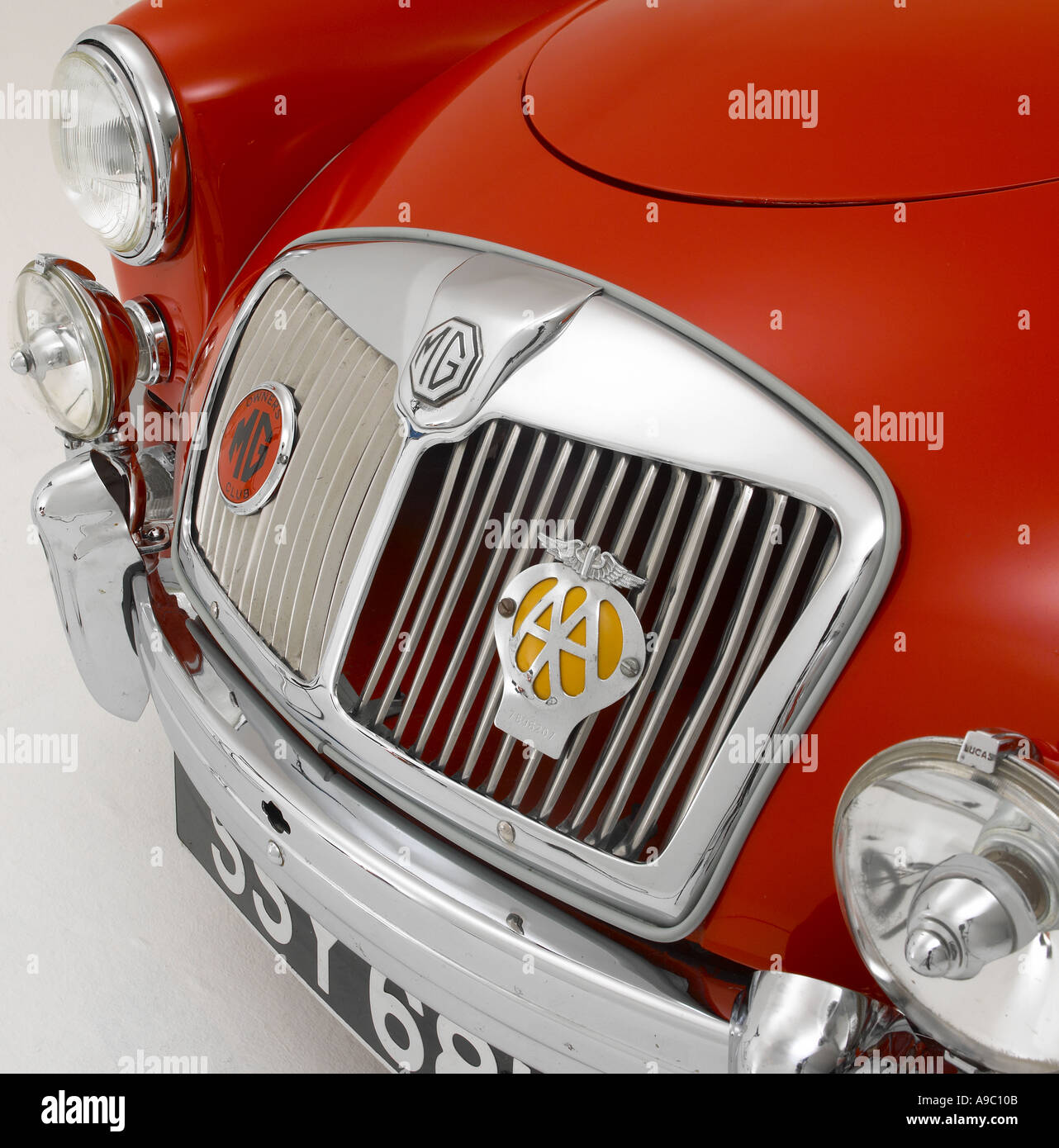 1957 MG A - Stock Image
