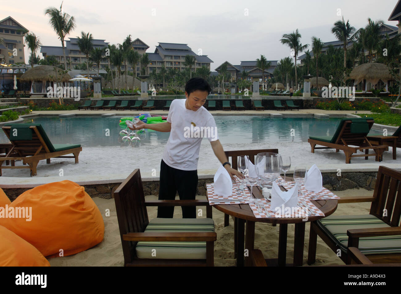 The Hilton Sanya Resort and Spa. 31-Mar-2006 - Stock Image
