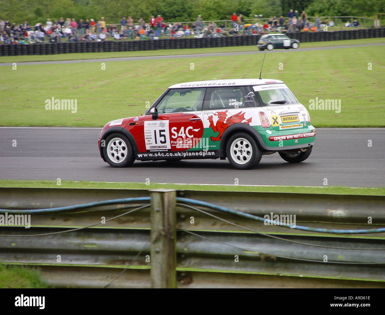 Motor racing car England GB UK 2003 - Stock Image