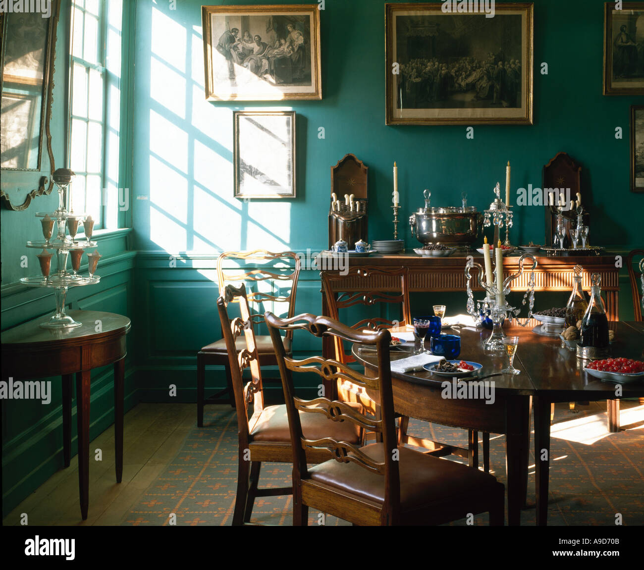 Mount Vernon Dining Room: Mount Vernon, Virginia, USA
