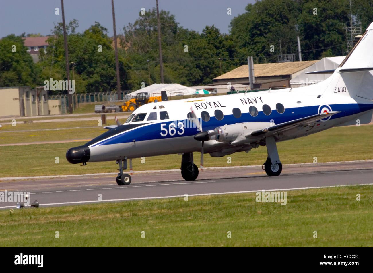 British Aerospace Jetstream T2 (BAe-3100) Royal Navy - Stock Image