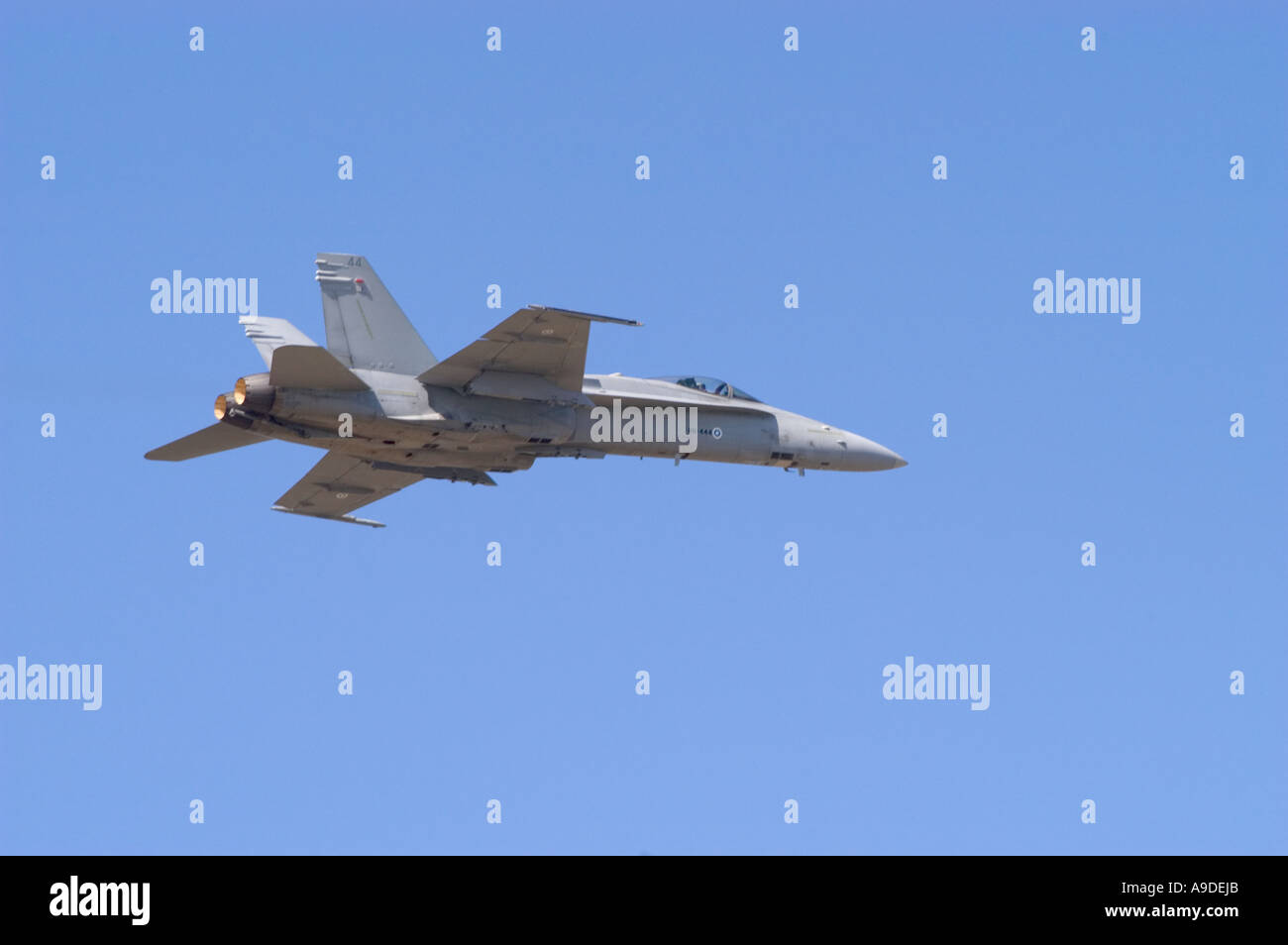 F/A-18C Hornet, Swiss Air Force Stock Photo