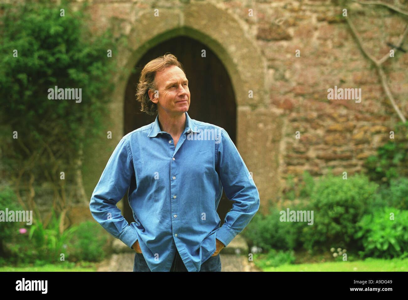 Nicholas Evans author of The Horse Whisperer - Stock Image