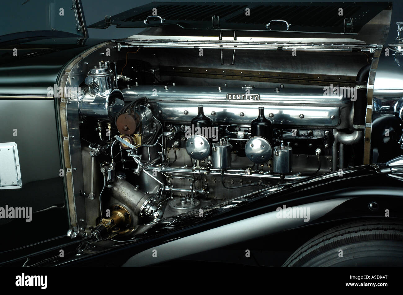 Bentley 8 L fixed head coupe 1932 - Stock Image