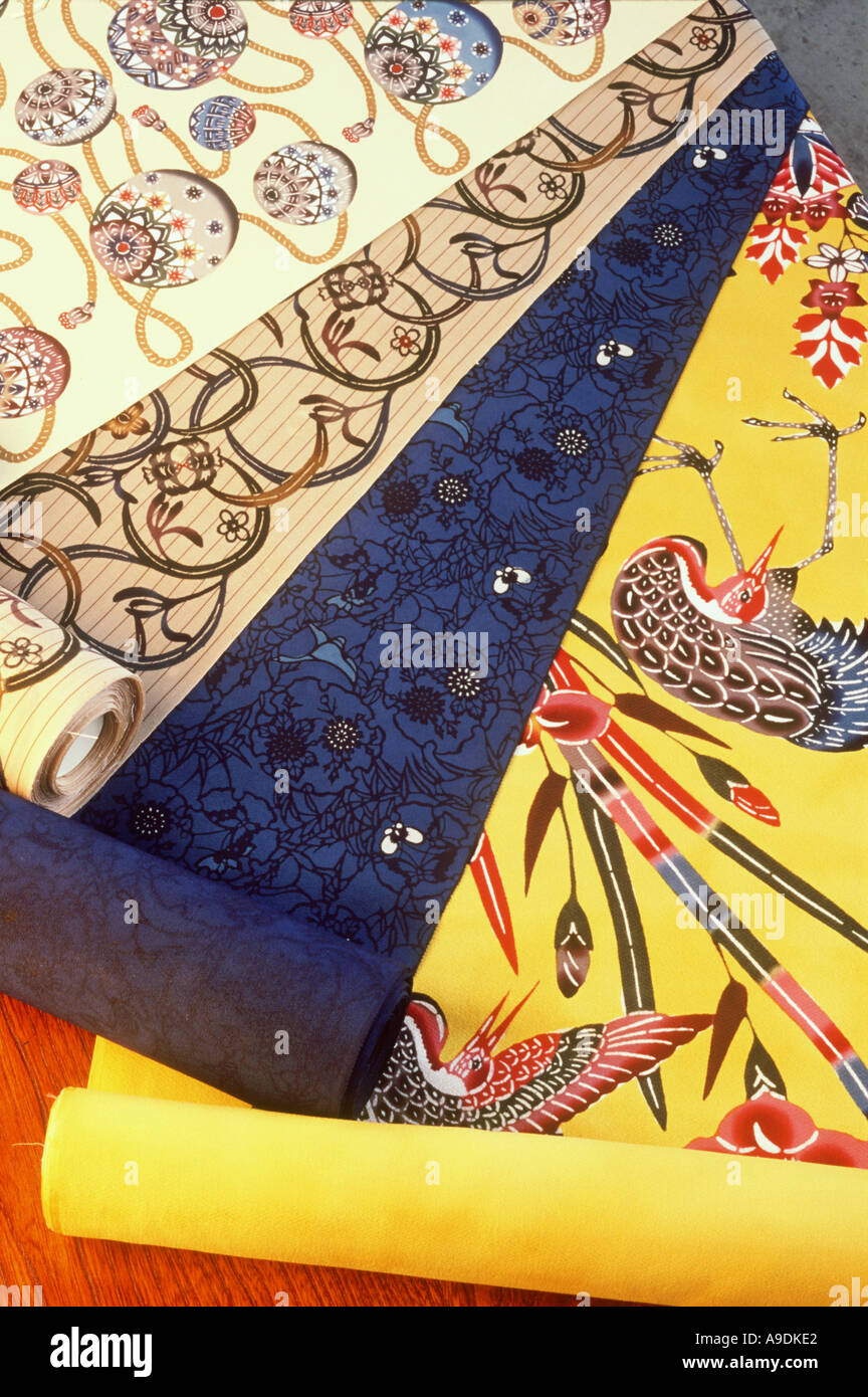 Kimono Fabric Stock Photos & Kimono Fabric Stock Images - Alamy