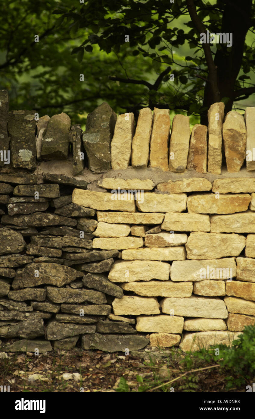 Much Repaired Stone Wall Stock Photos & Much Repaired Stone Wall ...