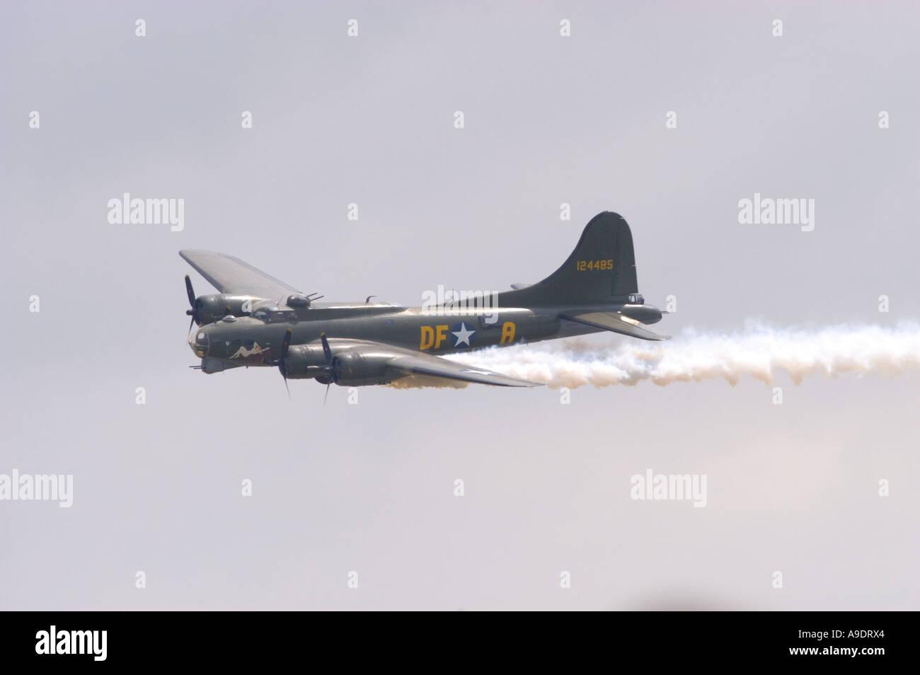 Boeing B-17G-105-VE Stock Photo