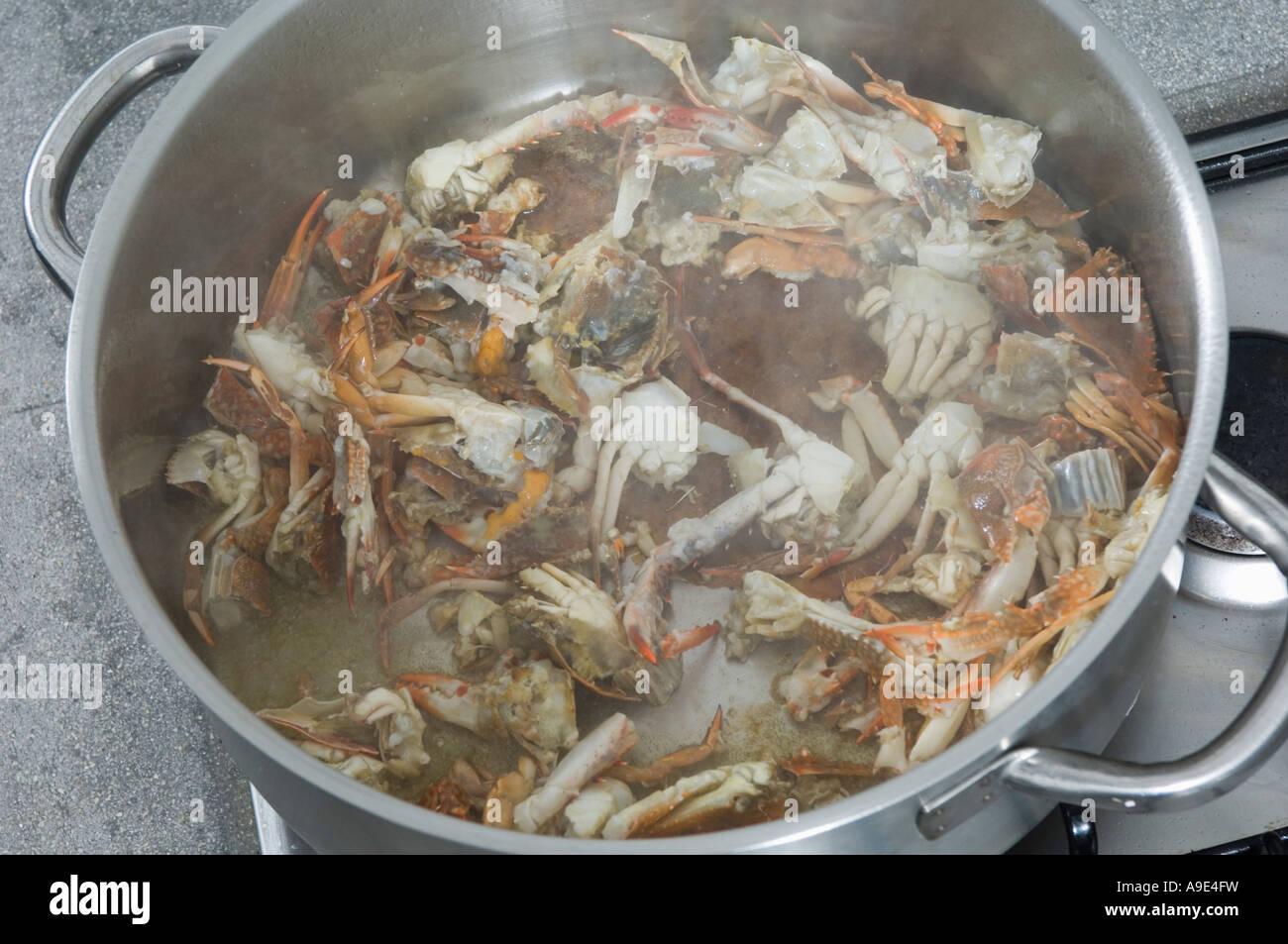 Cooking Crabs In Pot Stock Photo Alamy,Lemon Drop Shots With Triple Sec