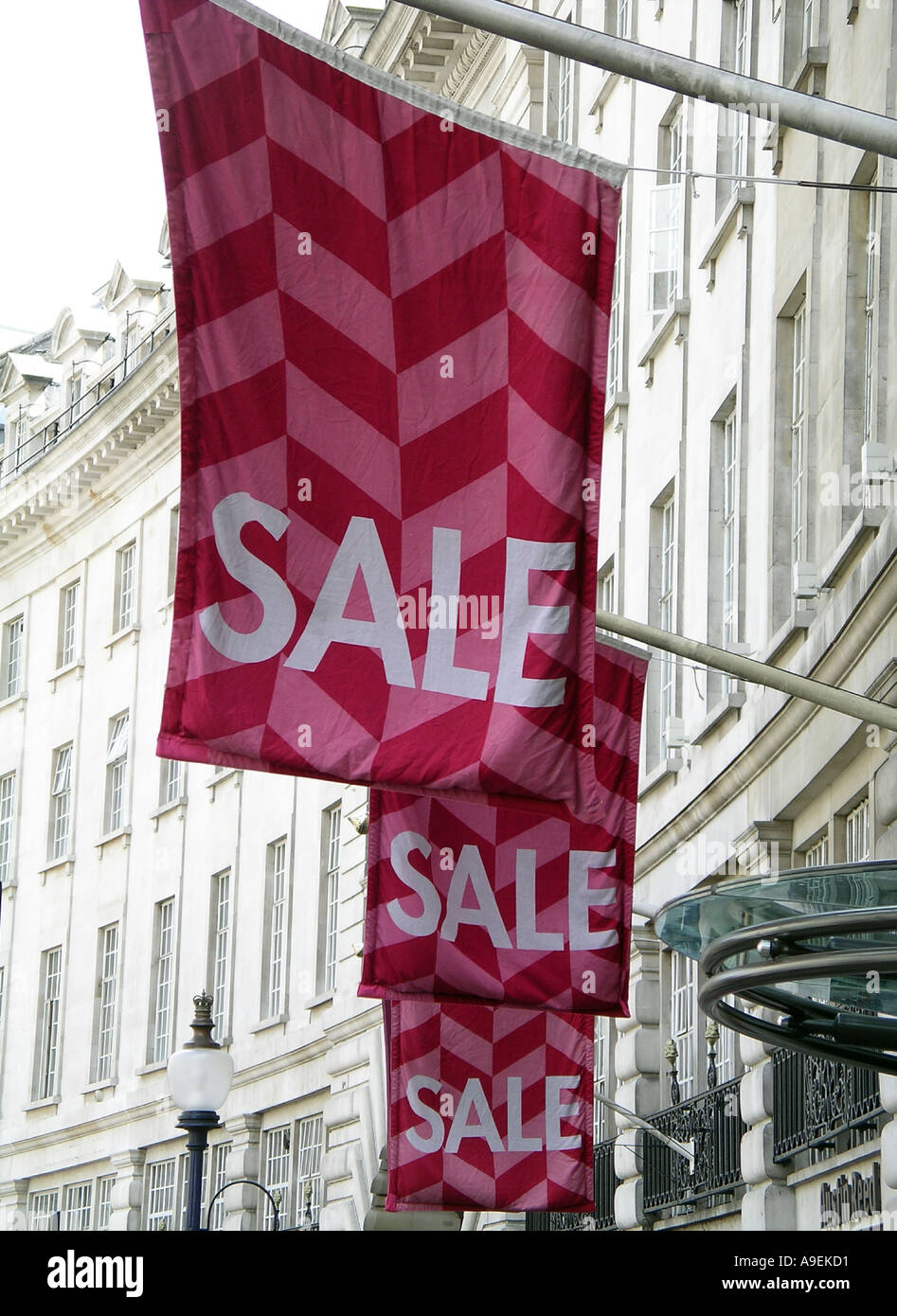 London Sale Picadilly - Stock Image