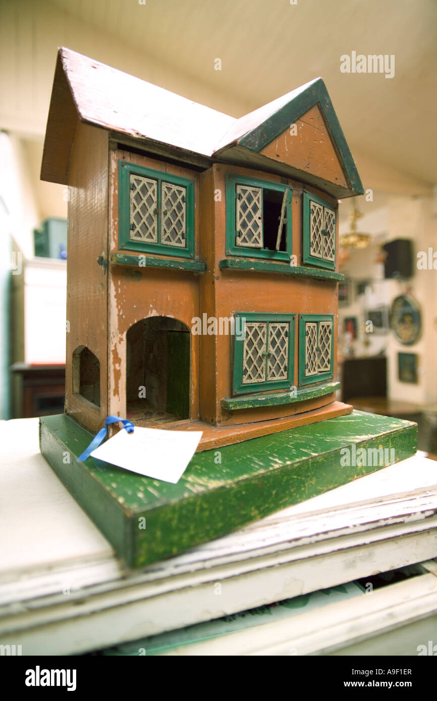 Old Model House With A Price Tag Stock Photo 12346942 Alamy
