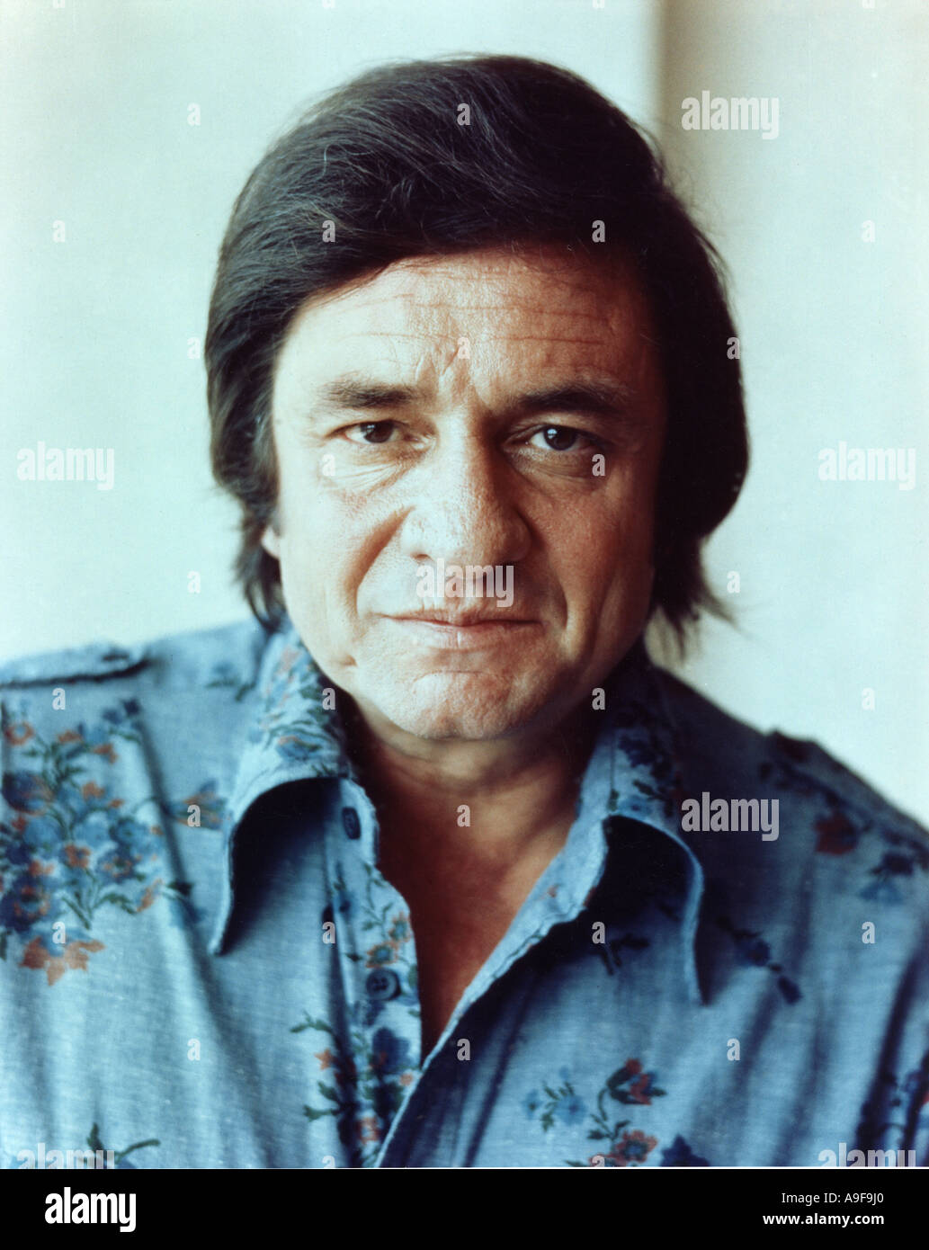 JOHNNY CASH  US Country muscian - Stock Image