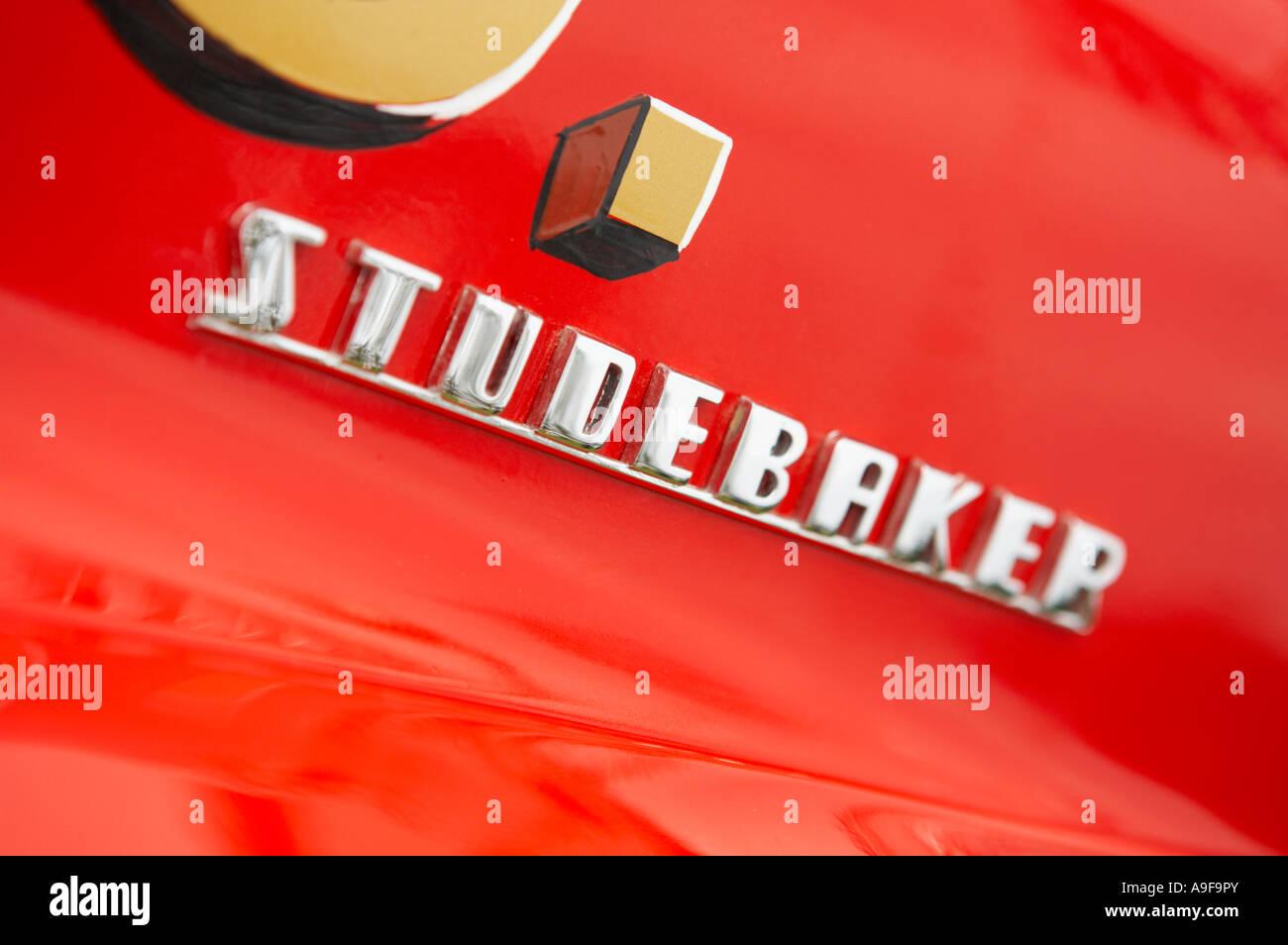 Studebaker Fire Appliance Badge - Stock Image