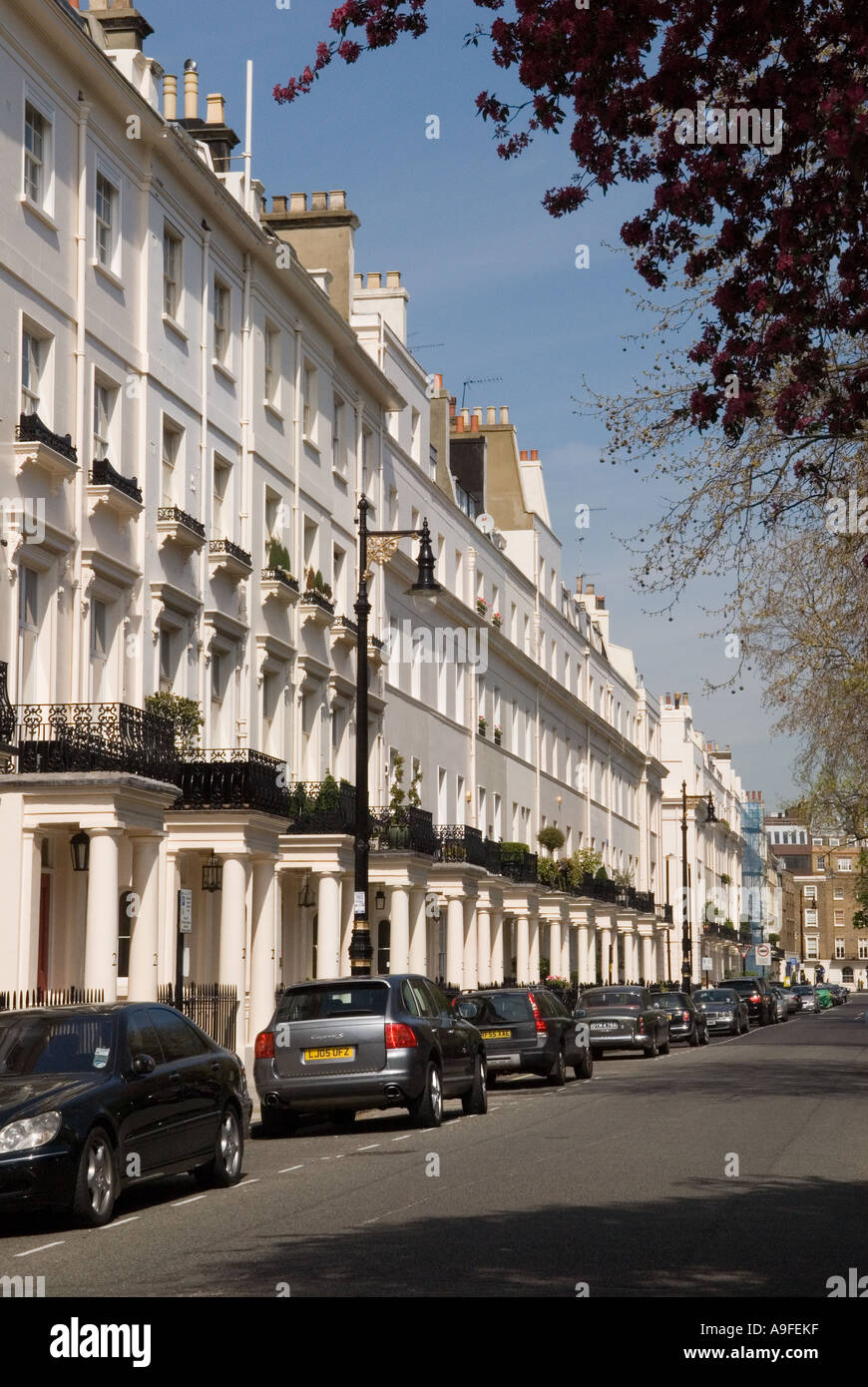 Chester square, Belgravia. City of Westminster. London SW1. England.  HOMER SYKES - Stock Image