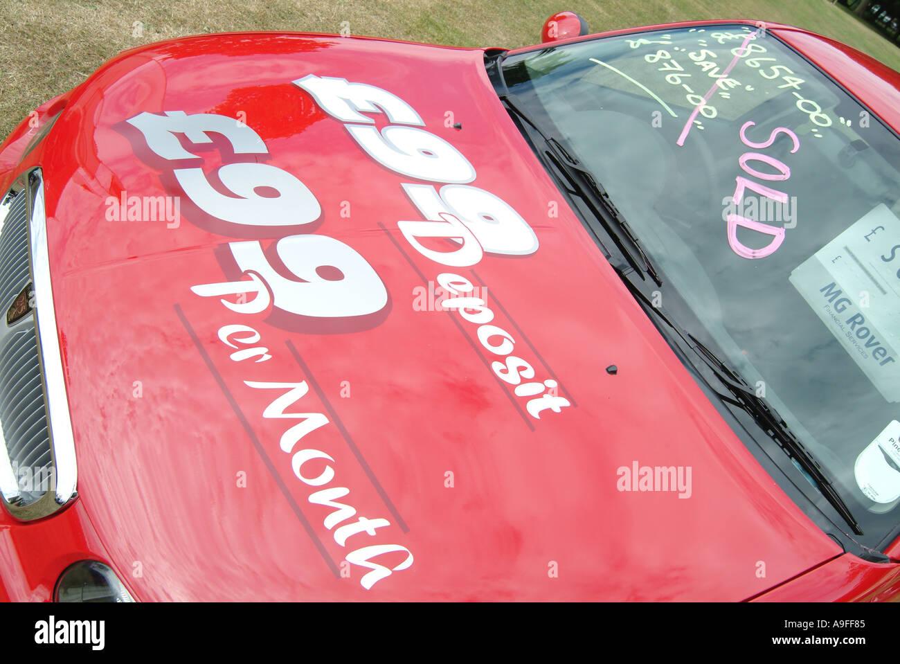 25 rover car maker manufacturer england english GB New car Finance ...