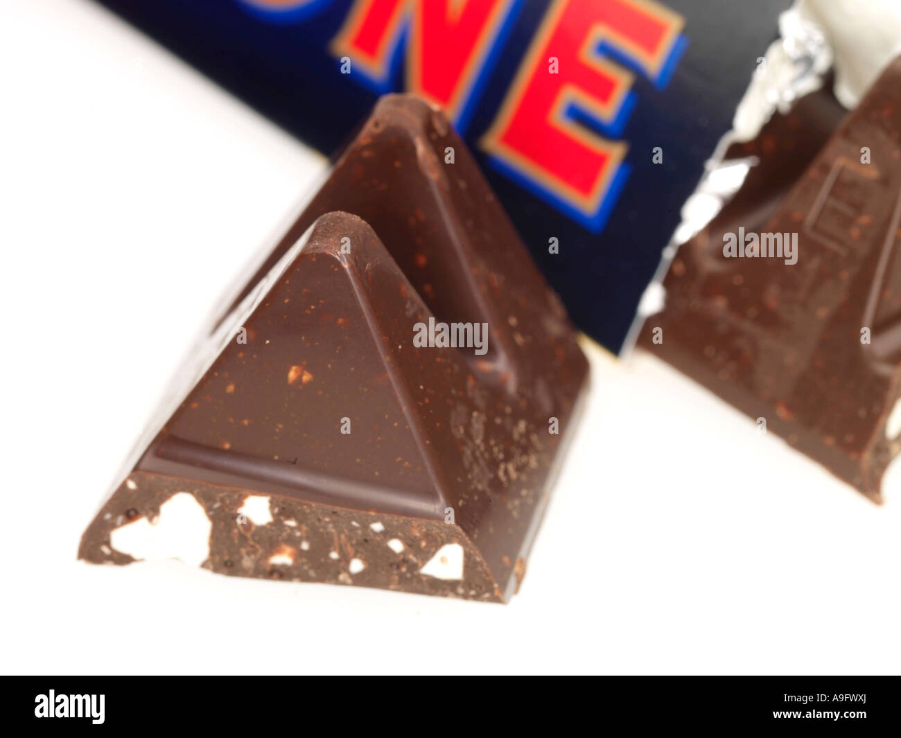 Dark Chocolate Bar Snack Nut Toblerone Stock Photos Dark