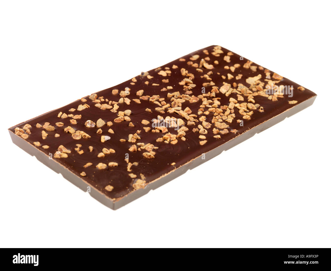 Nutty Chocolate - Stock Image