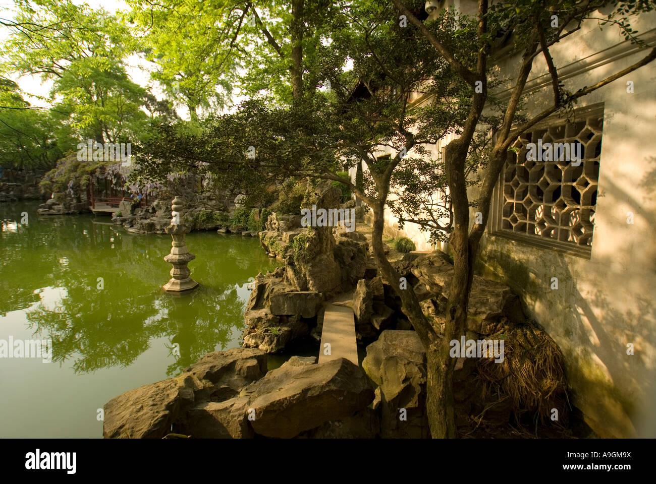 Suzhou\'s Lingering Garden (Liu Yuan Stock Photo: 12362677 - Alamy