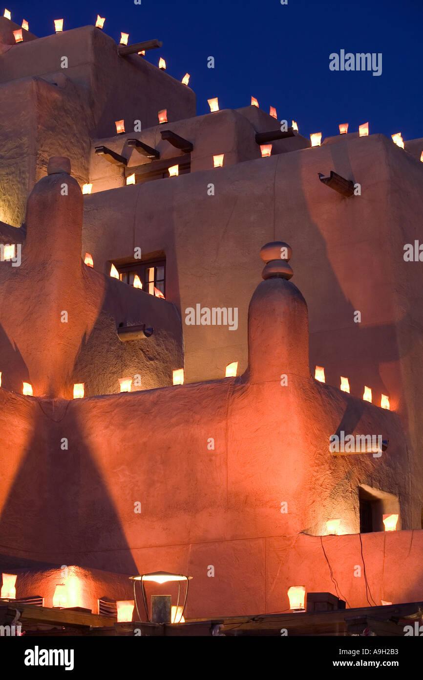 The Inn, Loretto, Sante Fe, New Mexico, USA - Stock Image