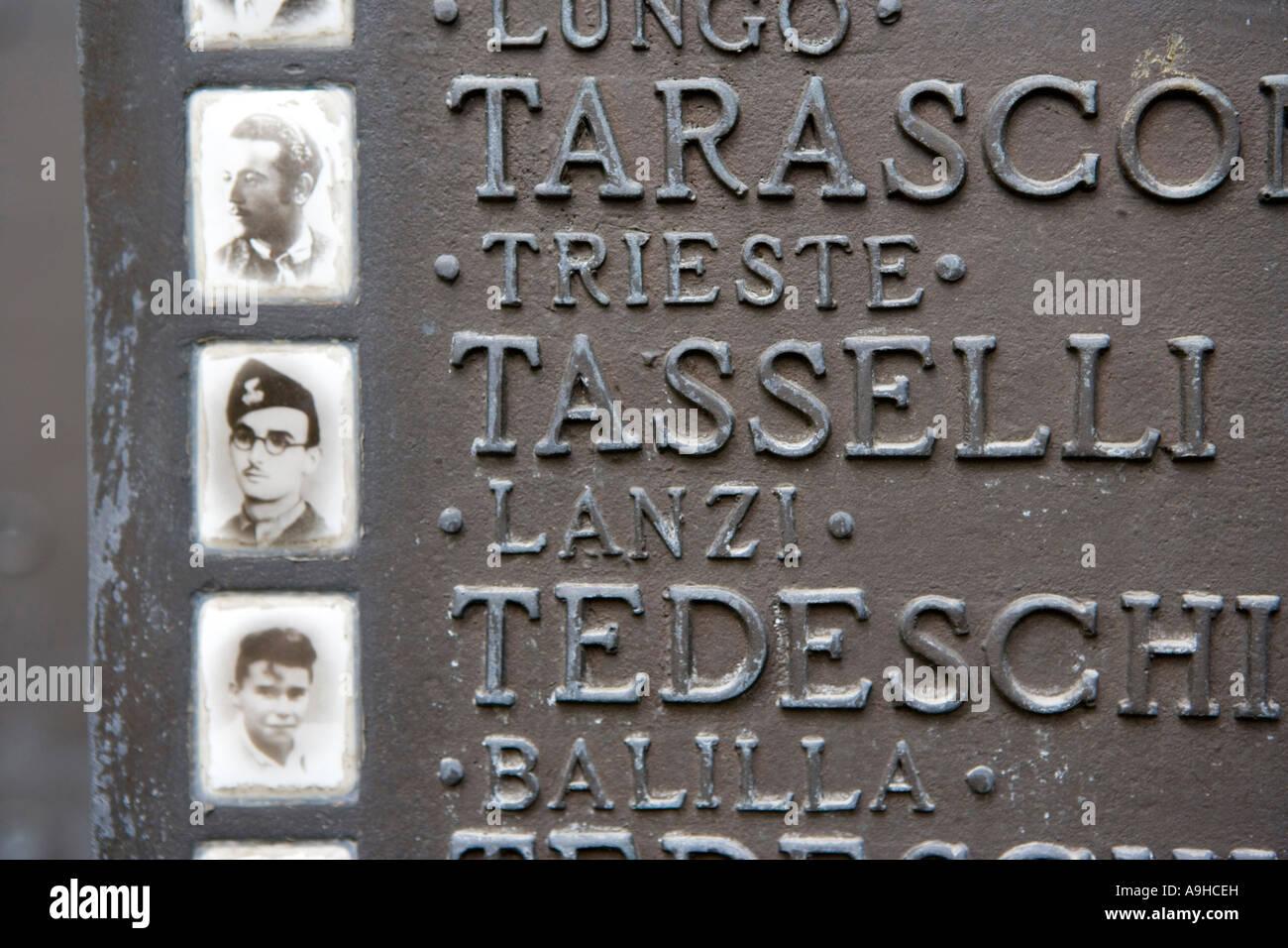 Partisans Memorial Reggio nell Emilia Emilia Romagna Italy - Stock Image 1c3941045ca