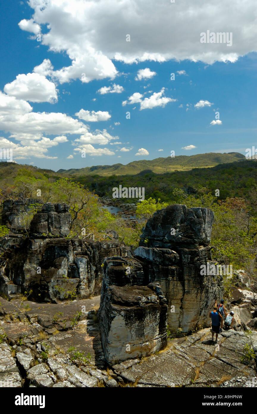 Chapada dos Veadeiros Alto Paraiso Goias Brazil - Stock Image