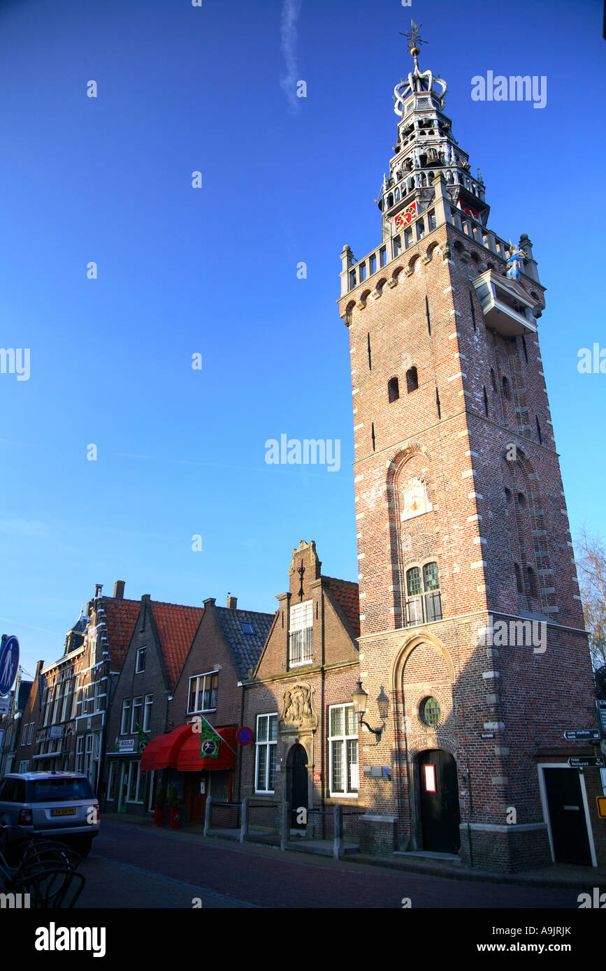 The Dutch village of Monnickendam Noord Holland The Netherlands Stock Photo