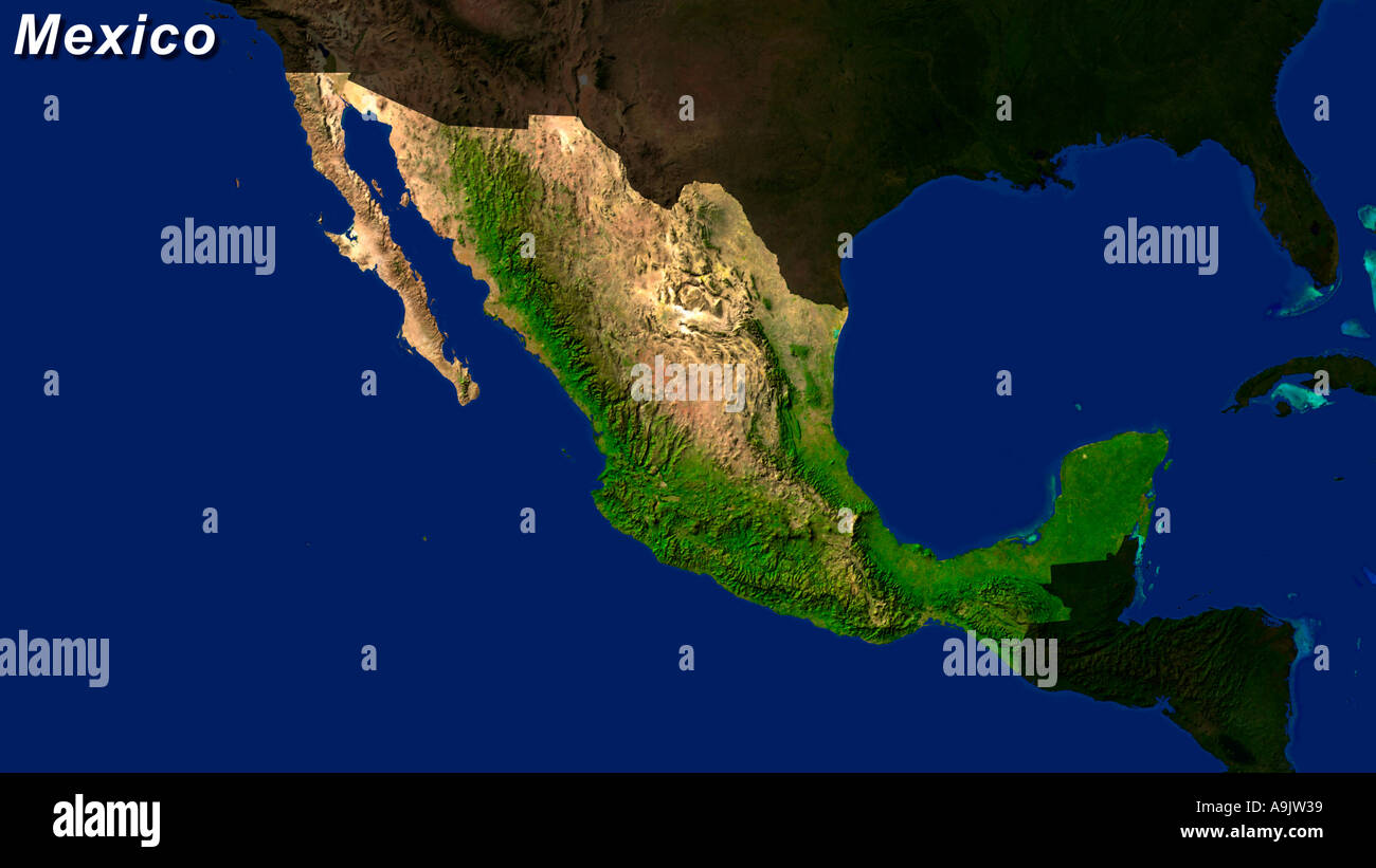 Map Satellite Geography Mexico Stock Photos & Map Satellite ... on google mexico, airports mexico, hotel mexico, weather map mexico, topographical map of mexico, detailed map mexico, physical map plateau of mexico, san jose de los marquez jalisco mexico, germany mexico, terrain map mexico, united states mexico, travel mexico, political map mexico, road map mexico, fashion mexico, canada mexico, blank map mexico, physical map of new mexico, history mexico, mapa mexico,