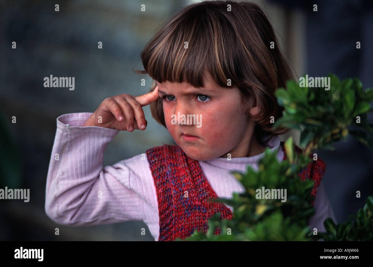 Portrait of a Turkish boy Side near Antalya Turkey - Stock Image