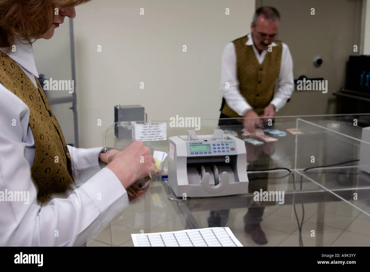 Casino money room
