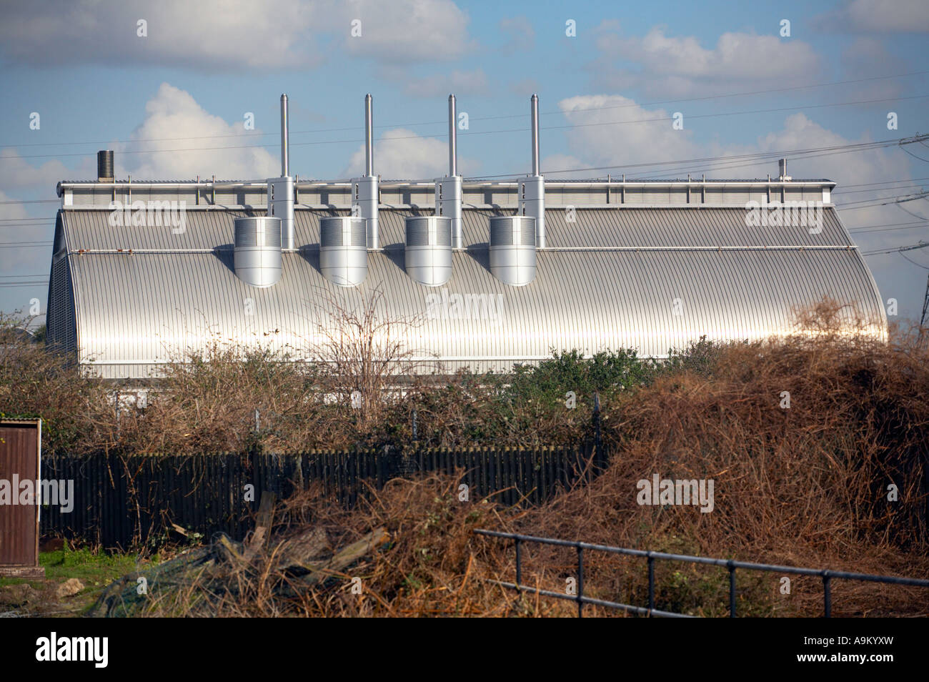 New Abbey Mills Sewage Pumping Station - Stock Image