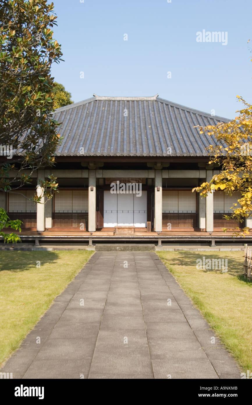 Gokokusan Tenno ji Temple Taito city Tokyo Japan Asia Stock Photo