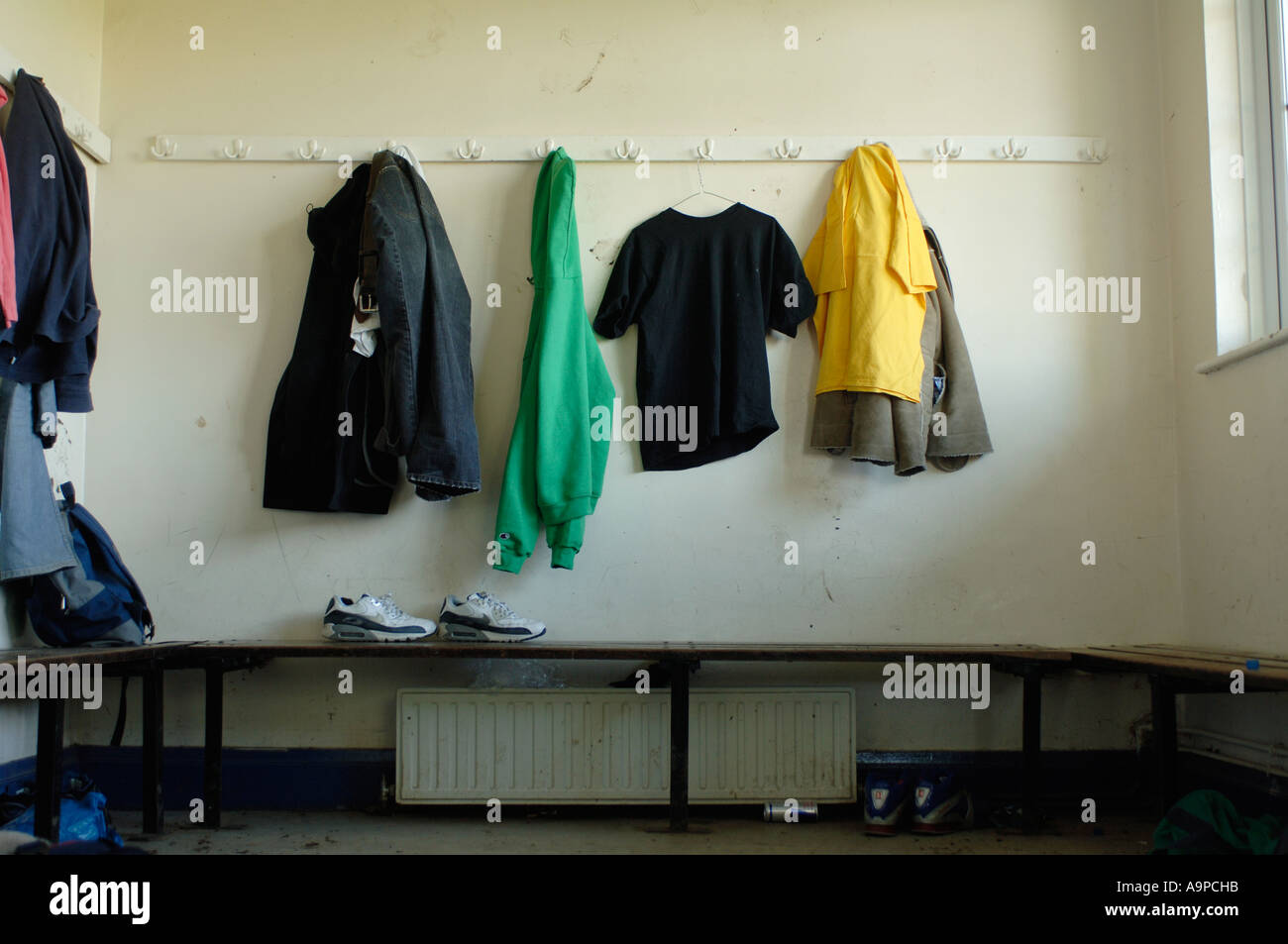 Amateur changing rooms