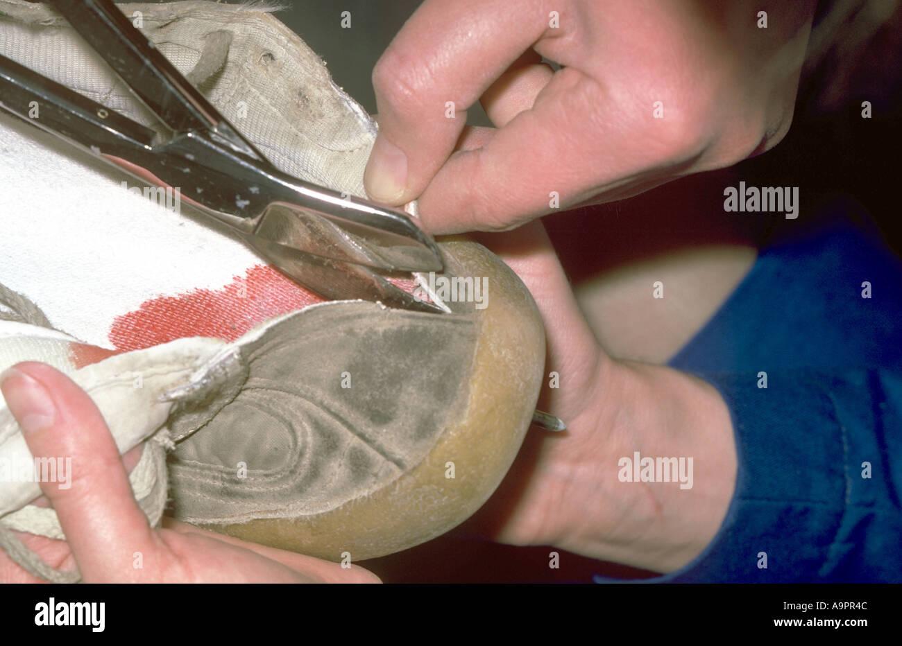 Injury to foot nail Stock Photo: 4054859 - Alamy