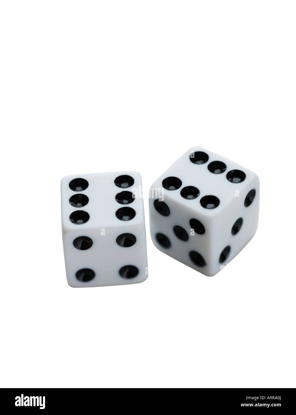 Close up of dice - Stock Image
