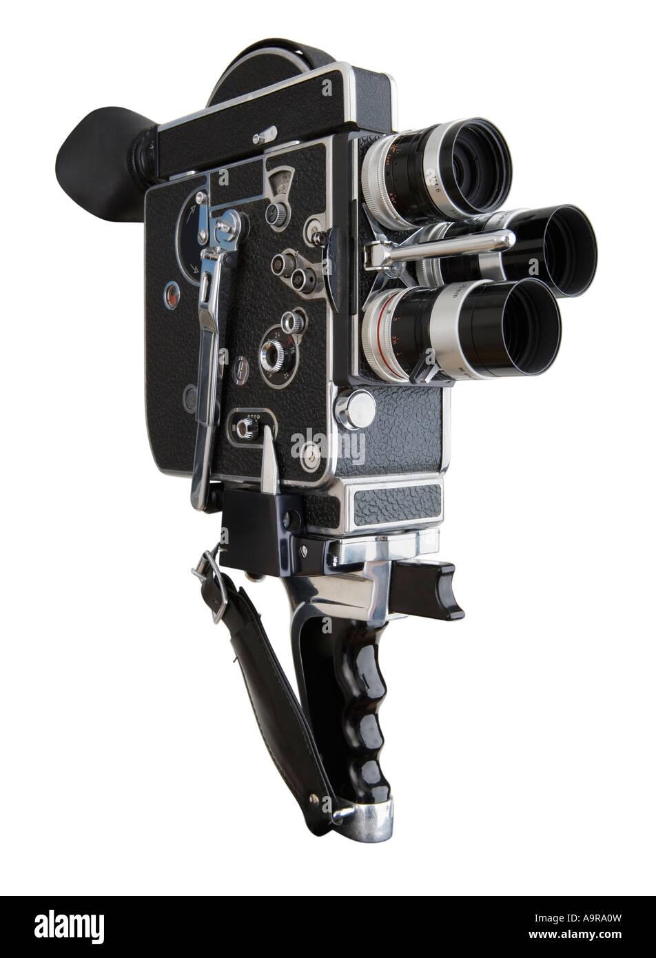 Close up of film camera - Stock Image