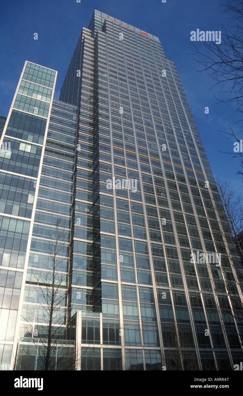 Citygroup building Canary Wharf London - Stock Image