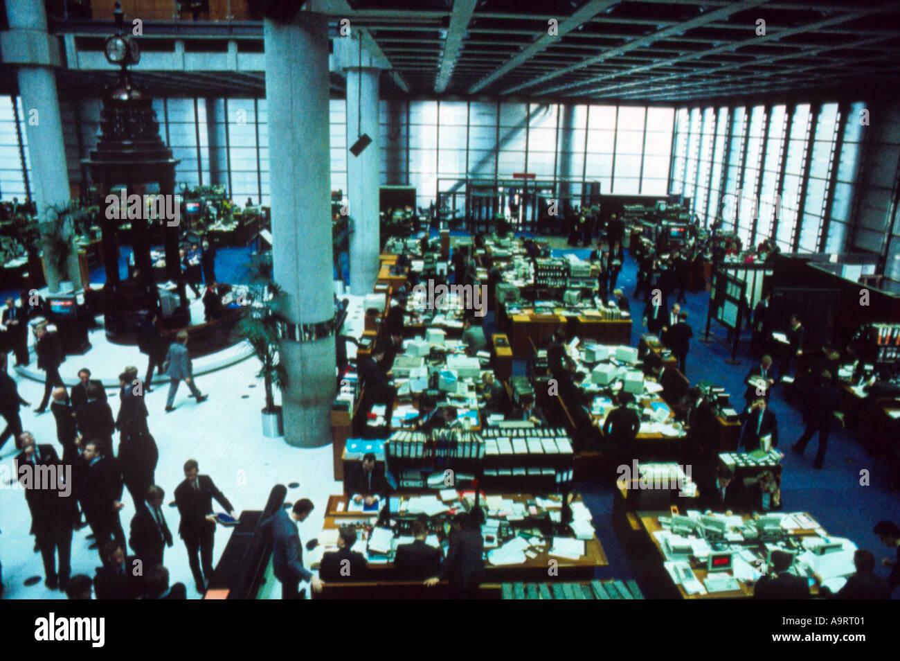 Main floor Lloyds of London - Stock Image
