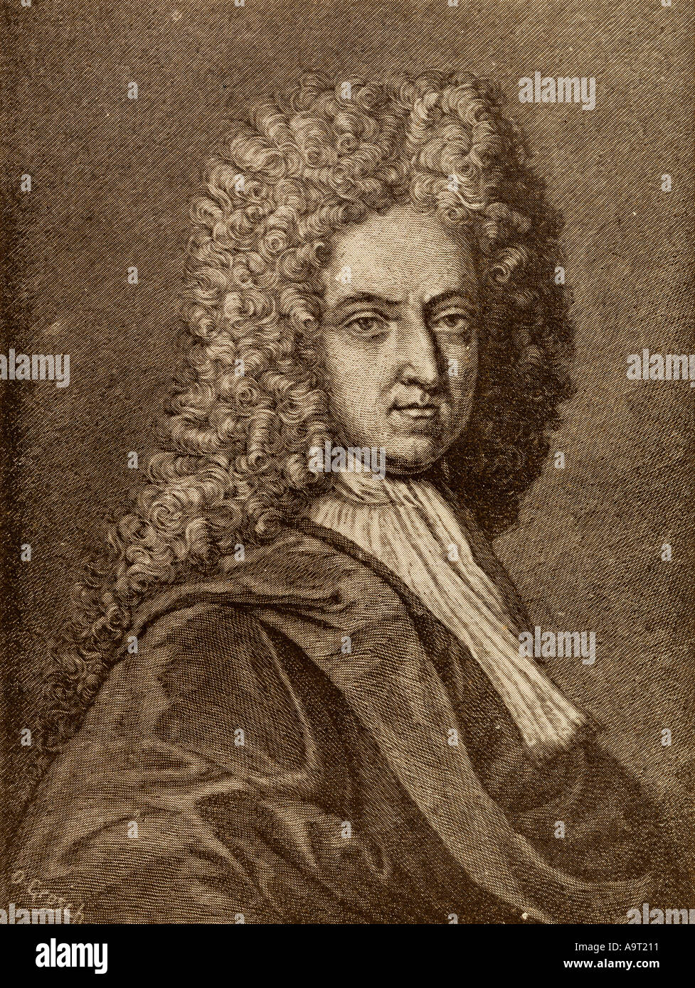 Daniel Defoe, 1660 - 1731. English trader, writer, journalist, pamphleteer  and spy.