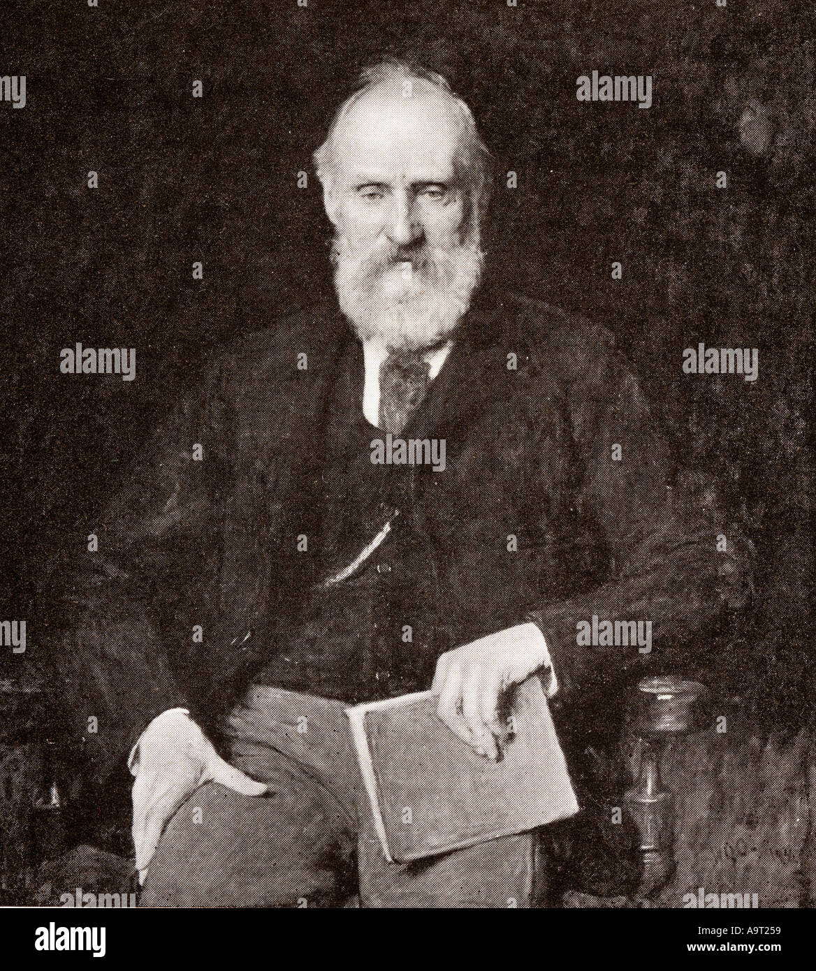 William Thomson, 1st Baron Kelvin,1824 - 1907.  Belfast born mathematical physicist and engineer. - Stock Image