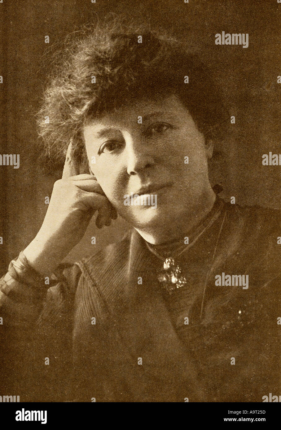 Lucy Clifford aka Mrs W. K. Clifford, 1853 -1929. English journalist, novelist and dramatist. - Stock Image
