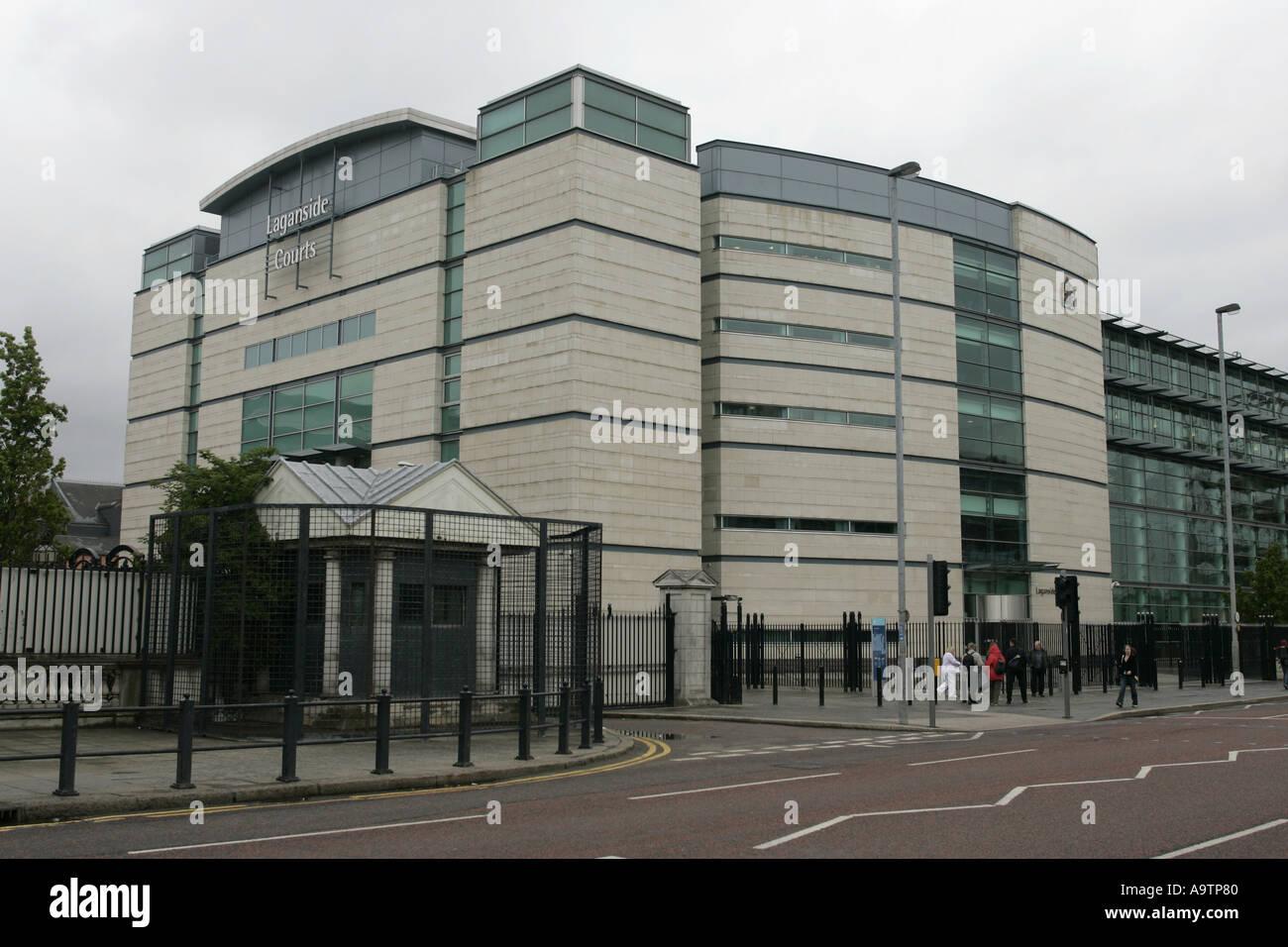 Laganside Courts Belfast - Stock Image