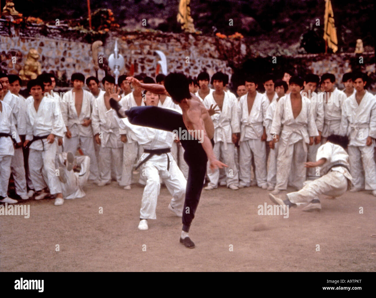 Bruce Lee Enter The Dragon Stock Photos Bruce Lee Enter The