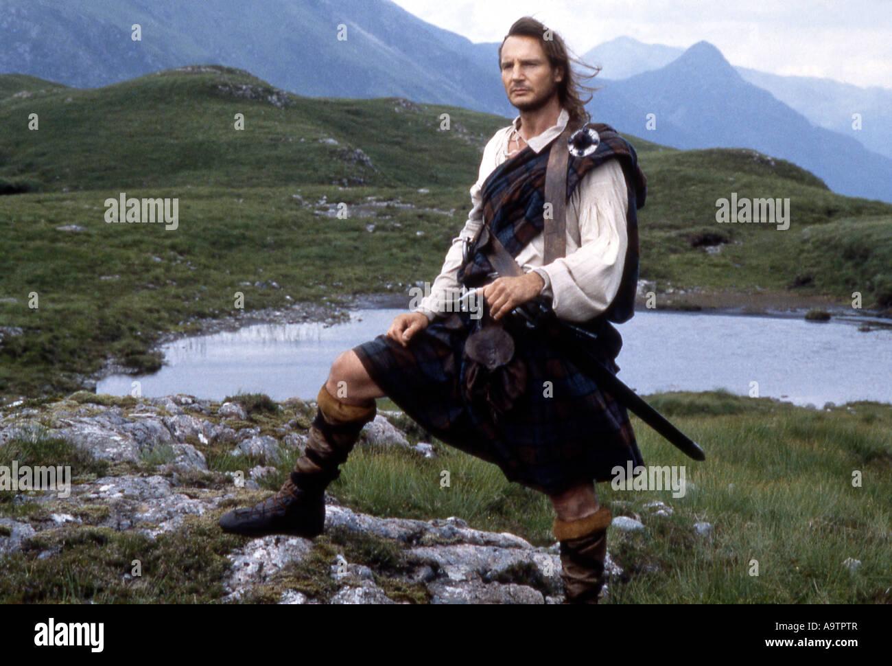 ROB ROY - 1995 UIP/UA film with Liam Neeson - Stock Image