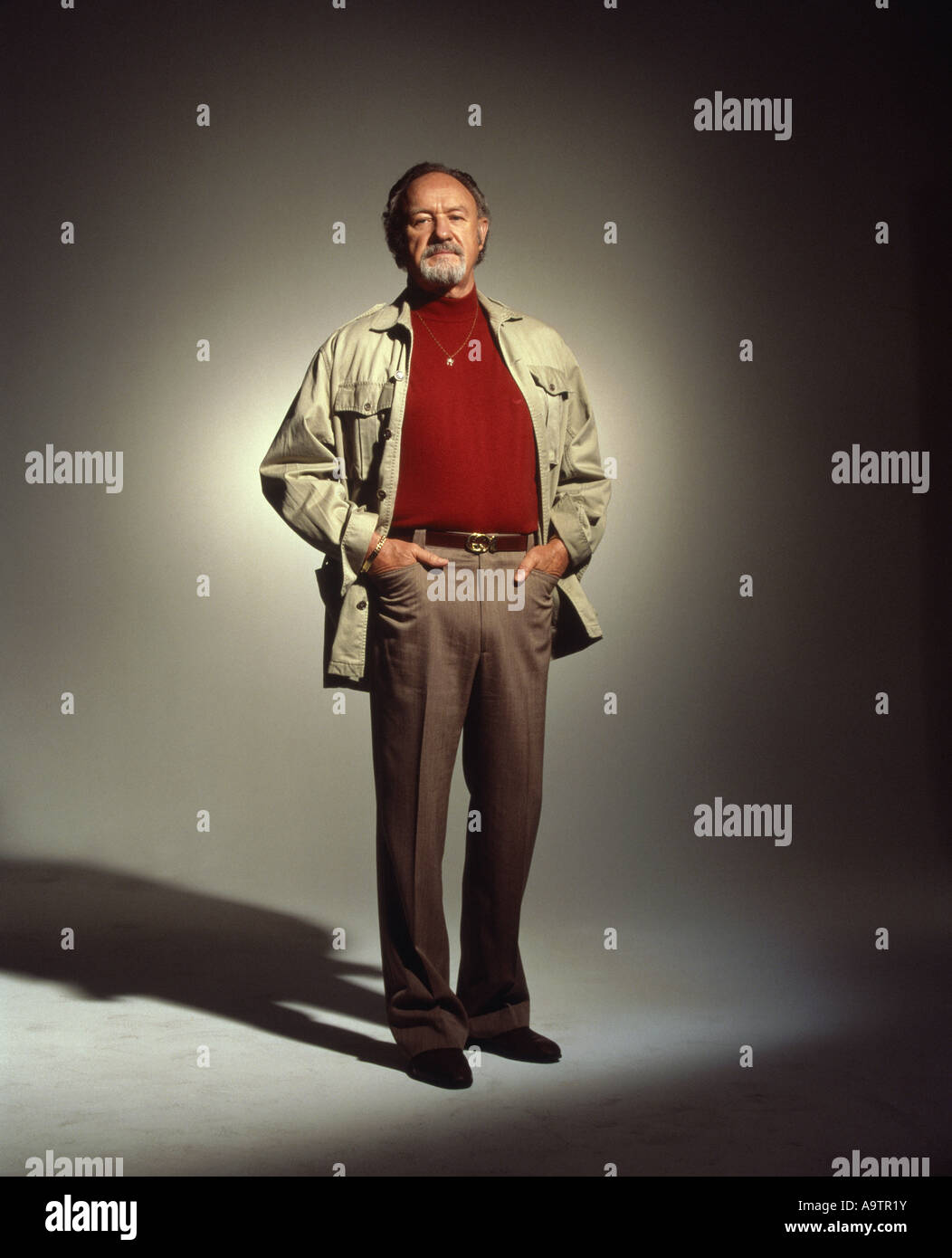 GENE HACKMAN - US actor - Stock Image